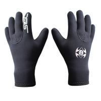 Buy cheap 3MM PRO winter diving gloves neoprene gloves with nylon Glueing blind stitching non slip palm design warm keeper best qu from wholesalers