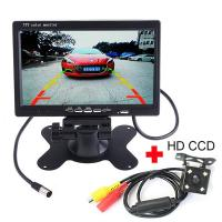 Buy cheap Durable 7 Inch Rearview Mirror LCD Monitor , Backup Camera Monitor 300 / 1 Contrast from wholesalers