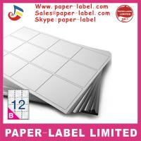 Buy cheap Label Dimensions: 105mm x 49.5mm A4 labels from wholesalers