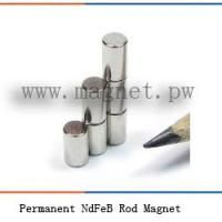 Buy cheap Permanent NdFeB Rod Magnet from wholesalers