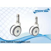 Buy cheap Central Locking Medical Casters Bed Casters Wheels 45 Degree Cam Movement from wholesalers