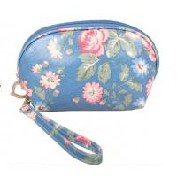Buy cheap Custom PVC Leather Cosmetic Bag ,  SGS Stylish Makeup Bag For Girls from wholesalers