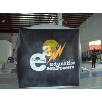 Buy cheap Reusable durable PVC cube balloon with Full digital printing for Opening event product
