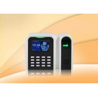 Buy cheap High speed network biometric fingerprint time clock system with ID Card for office , school , banks from wholesalers