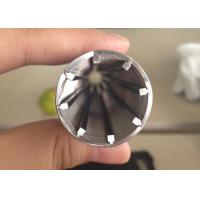 Buy cheap 1000 mm Cylindrical Wedge Wire Filter For Liquid Filtration , Pickling Treatment from wholesalers