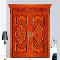 Buy cheap House used swing main entrance wooden door/ MDF door, double wood door from wholesalers