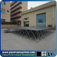 Buy cheap Portable folding mobile stage modular concert stage in Shenzhen from wholesalers