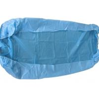 Buy cheap Clinic Disposable Surgical Drapes Blue Bed Covers With Elastic Fitted Bed Sheets from wholesalers