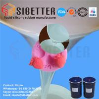 China Food Grade RTV 2 Liquid Moulding Silicone Rubber for Fondant Mold on sale