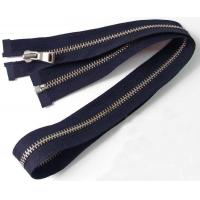 Buy cheap No.5 Open End Big Metal Zipper With Big Teeth , Coil Separating Zipper from wholesalers