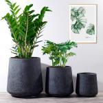Buy cheap Outdoor Planters Fiber Clay Planter Pots Garden Flower Pots Resin Plant Pots Patio Planters Large Pots from wholesalers