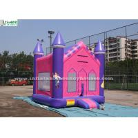 Buy cheap Outdoor Princess Inflatable Jumper Bounce House with 18 OZ PVC Tarpaulin from wholesalers