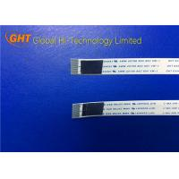 China Pitch 0.5mm Flexible Shielded FFC Cable Customized With Conductor Drouned on sale