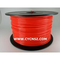 Buy cheap SGS RoHS certify 3D print filament /PLA Fluorescent colors /1.75mm /3.00mm /1kg from wholesalers