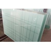 Buy cheap 6.38mm - 40.3mm CE and ISO9001 Curtain Wall Tempered Laminated Glass For Home from Wholesalers