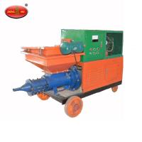 Buy cheap 380V High flow rate construction mortar mixing spraying plastering machine from wholesalers