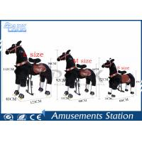 Buy cheap Amusement Park Kiddy Ride Machine Lovely Kids Horse Ride With Variety Design from wholesalers