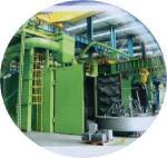Buy cheap Shot Blasting Machine in Tunnel Type Shot Blasting Machine for Cleaning Vehicle from wholesalers