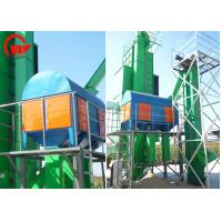 China Seeds Rotary Grain Cleaner Machine For Raw Wheat Pre Cleaning 1.1 - 4kw Engine Power on sale
