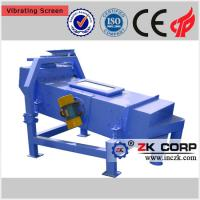 Buy cheap Linear vibrating screen for sieving wood chips from wholesalers