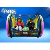 Buy cheap 48V / 20A Rolling Car Game Machine With Seats In Playground And Amusement Center from wholesalers