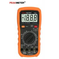 China Auto Power Off Handheld Digital Multimeter , Diode Automatic Tester With Continiuty on sale