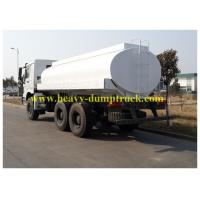 Buy cheap White Oil Transportation Trucks  19m3 tank drive 6x4 251hp - 350hp from wholesalers
