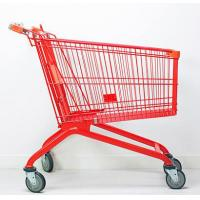 Buy cheap Metal Baby Seat Supermarket Shopping Cart Baskets 1040 X 580 X 1010 mm from wholesalers