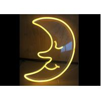 Buy cheap Moon LED Neon Signs Neon Sign Light For Club / Canteen Warm White Color product