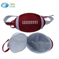 Buy cheap Red Customized Rugby Sports Eva Bag / American Football Bag Waterproof from wholesalers