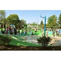 Buy cheap Colorful Playground Rubber Flooring Slip Proof Oil / Solvent Resistant from wholesalers