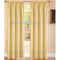 Buy cheap finished window curtain,polyester embroidery curtain with fashion valance product