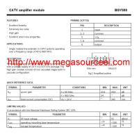 Buy cheap CAT Application BGY888 Amplifiers-Video Amps and Modules Integrated Circuit Chip product