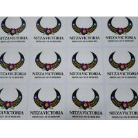 Buy cheap custom printing bulk adhesive sticker with glossy Lamination Finish manufacturer from wholesalers