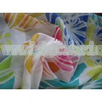 Buy cheap 100% polyester chiffon fabric with pringting for Garment SF-037 product