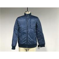 Buy cheap Chunky Denim Look Polyester Nylon Wadded Puffer Jacket With Rib Detail TW64465 from wholesalers