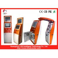 Buy cheap Shopping Mall Freestanding Self Service Payment Terminal With Advertising Monitor from wholesalers