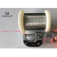 Buy cheap Silver Plated Copper Based Alloys Ultra Thin 40wag / 44awg With Pvc Coated from wholesalers
