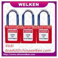 Buy cheap WELKEN Bradi, Corrosion and Low Temperature, Industrial Used,Master&alike, 38mm Long Shackle, ABS Safety Padlock from wholesalers
