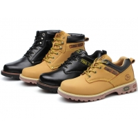 Buy cheap Construction Workers Safety Shoes Anti Smashing And Anti Stab Boots High Top from wholesalers