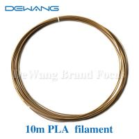 Buy cheap PLA 1.75MM 10M Modeling Stereoscopic Print Filament For 3D Drawing Pen Gold from wholesalers