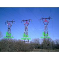 Buy cheap 735KV Triple steel tower from wholesalers