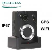 Buy cheap Wide Angle Infrared Body Worn Camera GPS Location Support 64x Digital Zoom product
