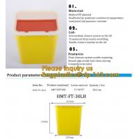 Buy cheap Plastic Hospital Medical Disposal Waste Sharp Container,plastic round sharps disposal container with lid BAGEASE PACKA from wholesalers