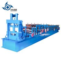 Buy cheap Non - Stop Metal C Z Purlin Roll Forming Machine Fully Automatic With Touch Screen from wholesalers