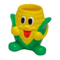 Buy cheap garnish corn shape 3D silicone/rubber/ plastic desk  pen & brush holders for ornaments from wholesalers