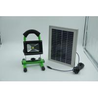 Buy cheap Portable LED Flood Light  10W, with Solar panel IEC / CE / ISO9001 : 2008 from wholesalers
