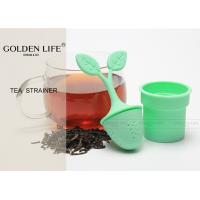 Buy cheap Mugs Teapots Silicone Tea Infuser , Loose Leaf Grain Tea Cups Long Lifespan from wholesalers