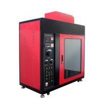 Buy cheap IEC60112 Leakage tracking index tester UL746A, ASTMD3638 Flame test chamber from wholesalers