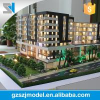 Buy cheap Architectural building scale model with led light from wholesalers